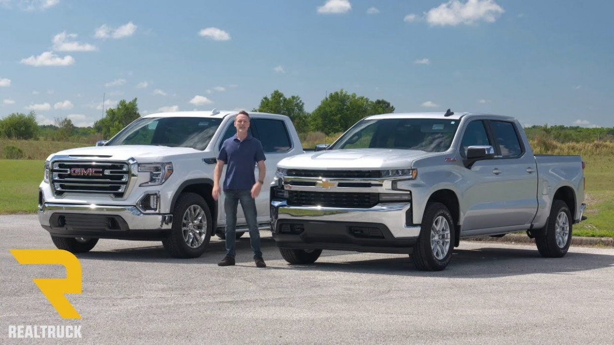 Comparing 11 Chevy Silverado 11 and 11 GMC Sierra 11 - 2020 gmc vs chevy