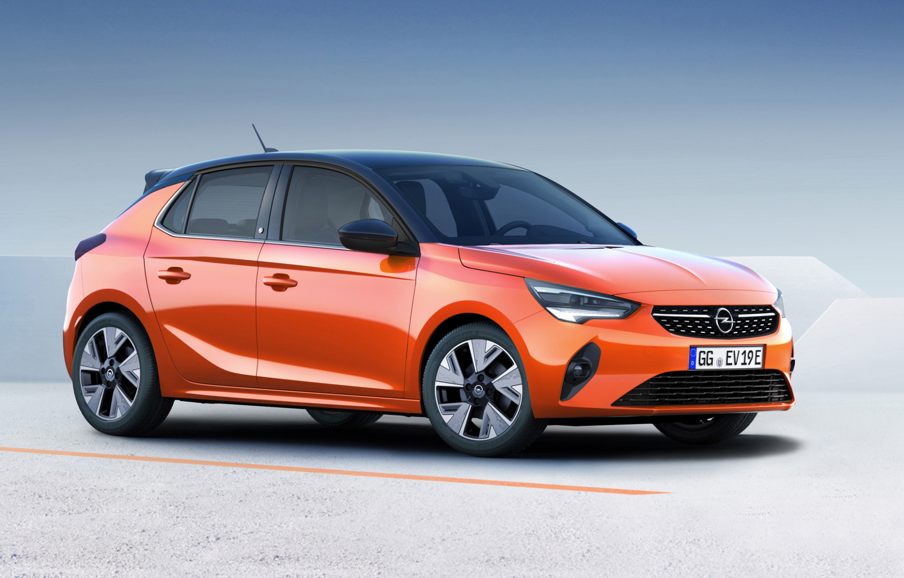 Corsa-e electric hatchback is part of Opel's first move ...