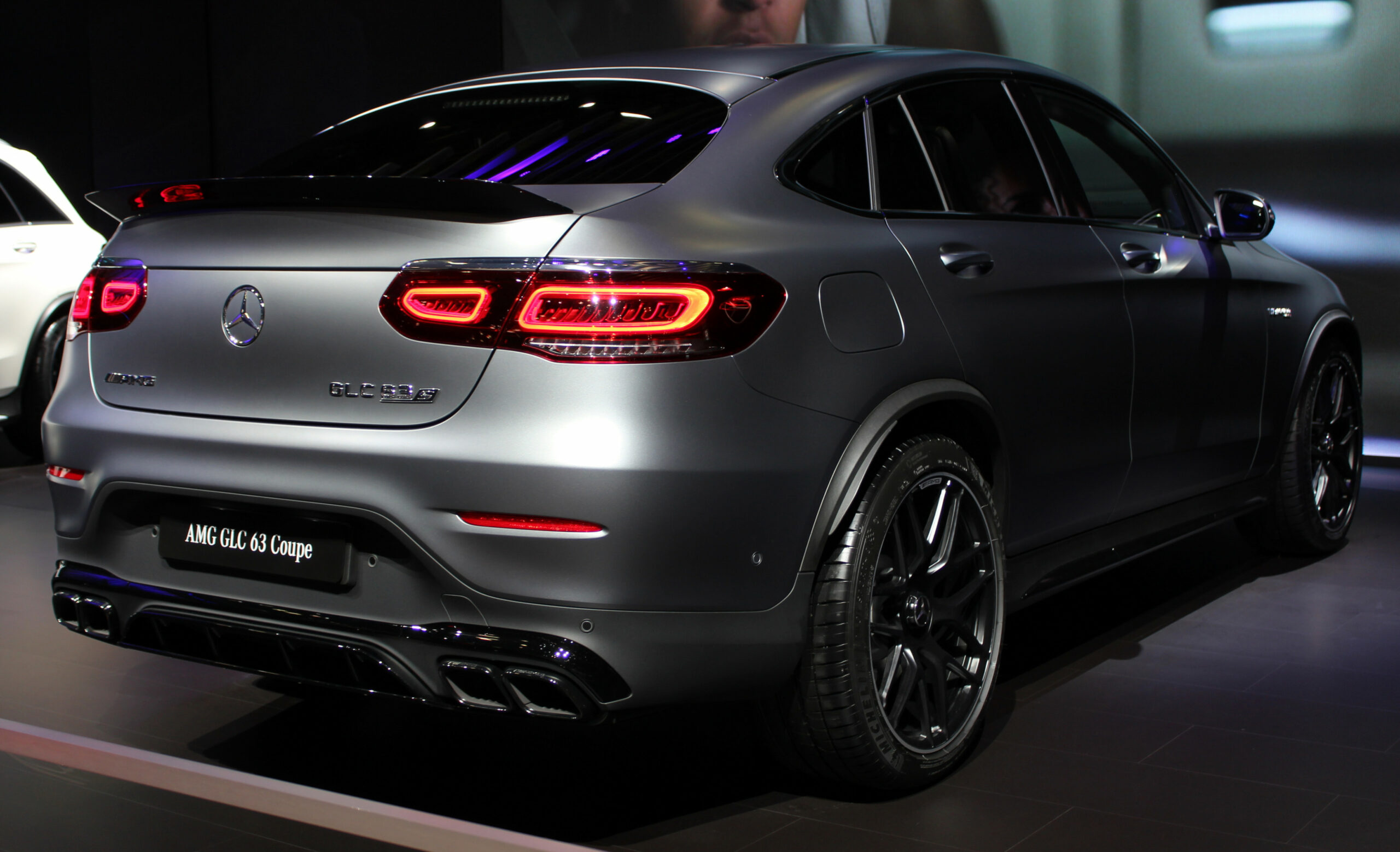 Datei:9 Mercedes-AMG GLC 9 S Coupe rear NYIAS 9