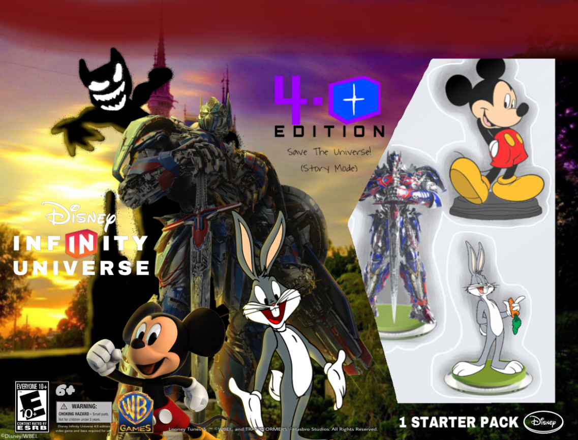 Disney Infinity 9.9 Edition Universe Starter Pack by ... - disney infinity 4