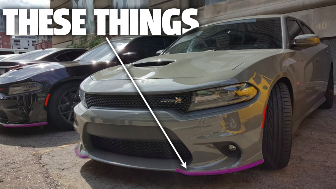 Dodge Chargers Will Get Purple 'Air Dam Shipping Covers' Instead ...