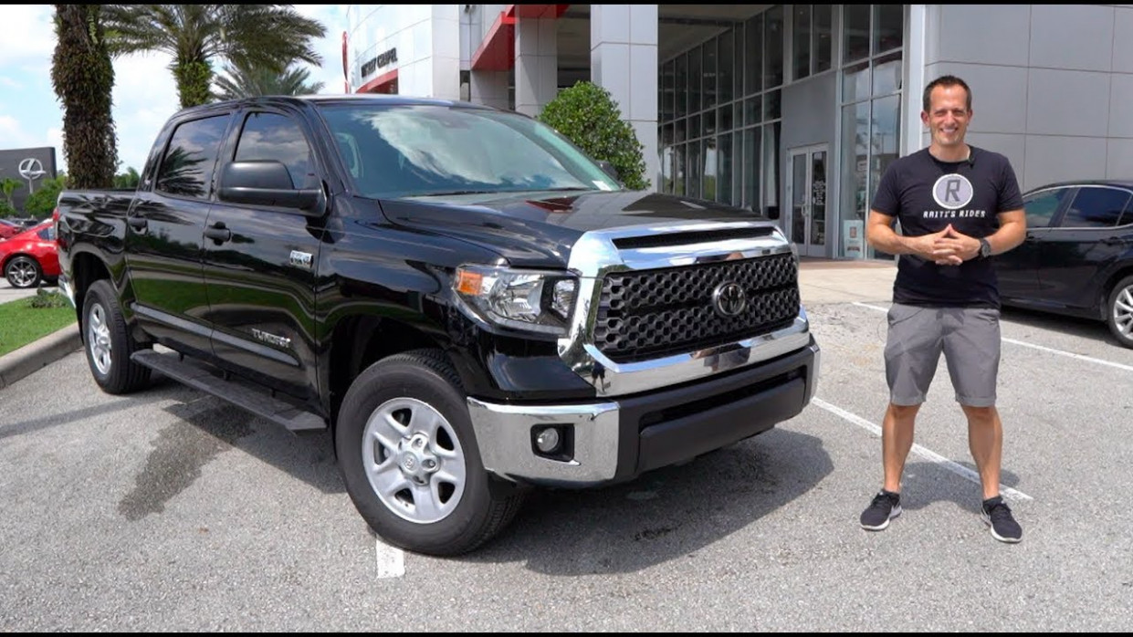 Does the NEW 8 Toyota Tundra SR8 have ENOUGH changes?