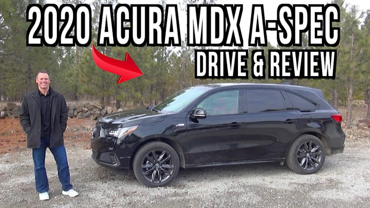 Drive and Review (Snow): 9 Acura MDX on Everyman Driver - 2020 acura mdx youtube