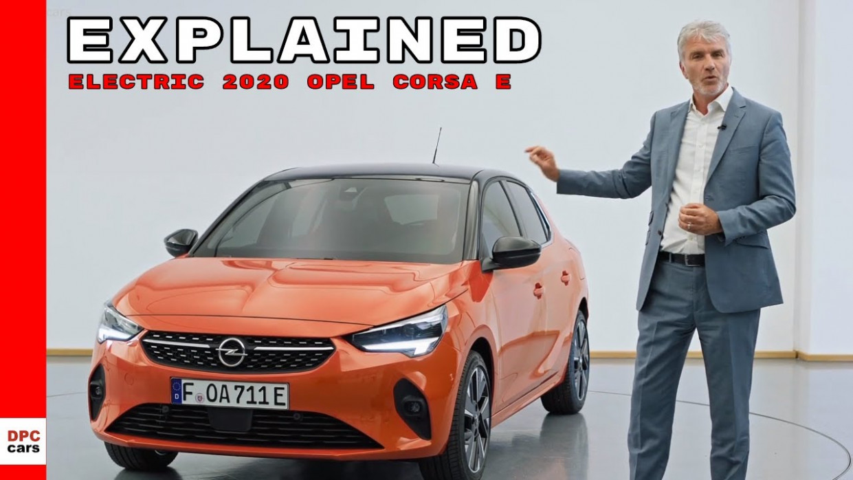 Electric 12 Opel Corsa e Explained - opel electric 2020