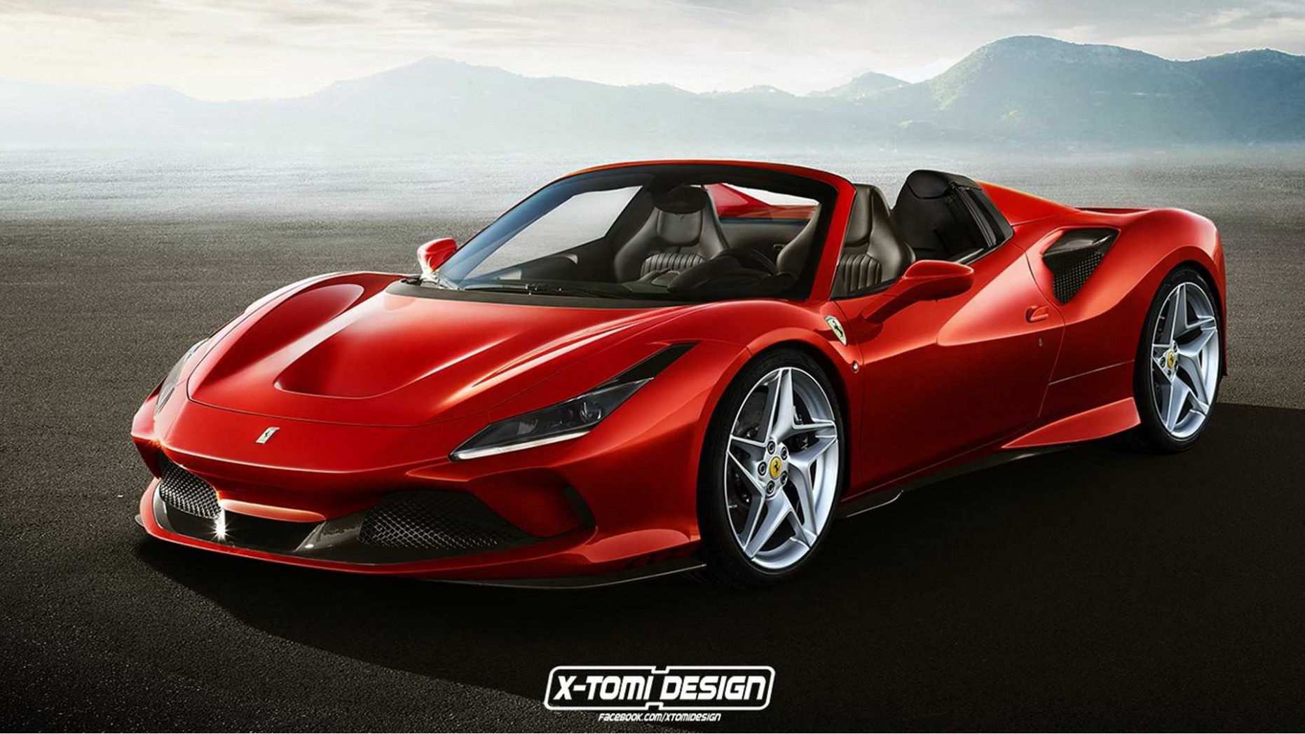 Ferrari F12 Spider Fan Render Could Pass For The Real Thing - 2020 ferrari red
