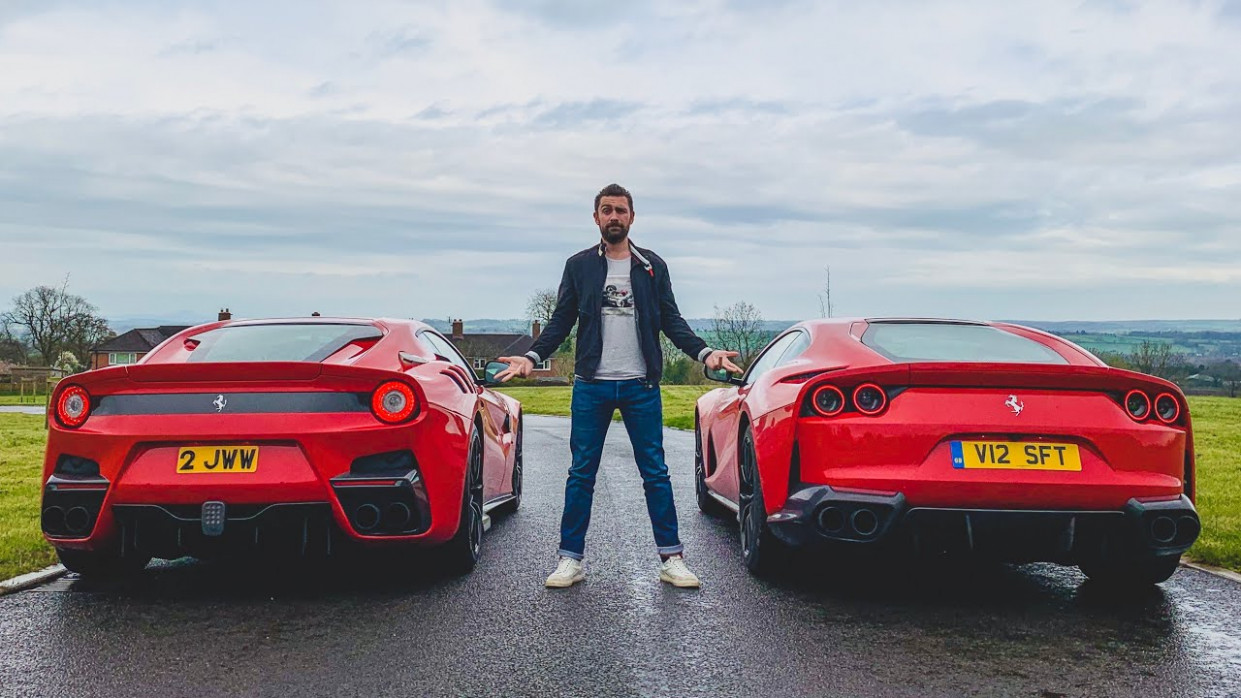 Ferrari F8 TDF vs Ferrari 88 Superfast