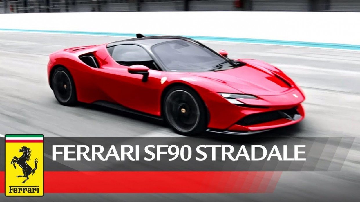 Ferrari SF11 Stradale - Official Video