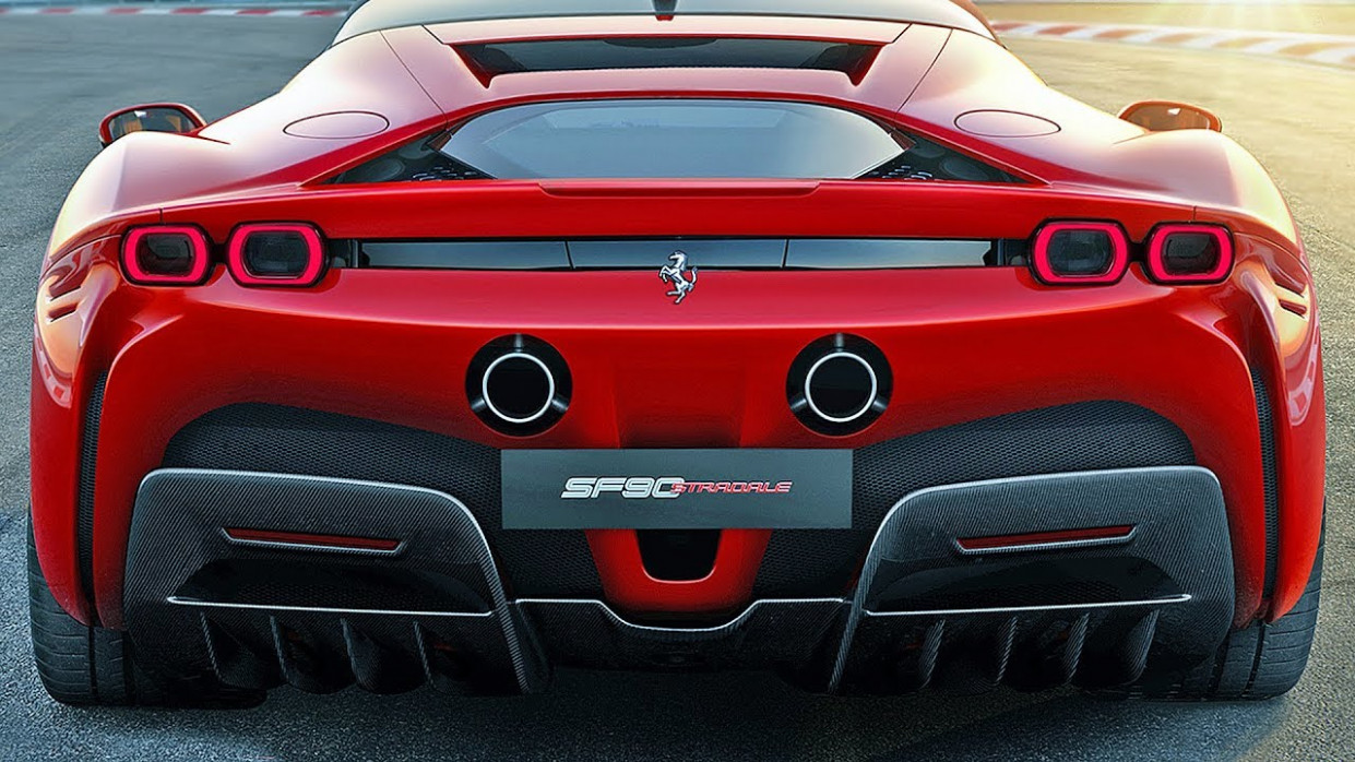 Ferrari SF8 Stradale (8) The most powerful Ferrari ever - 2020 ferrari horsepower
