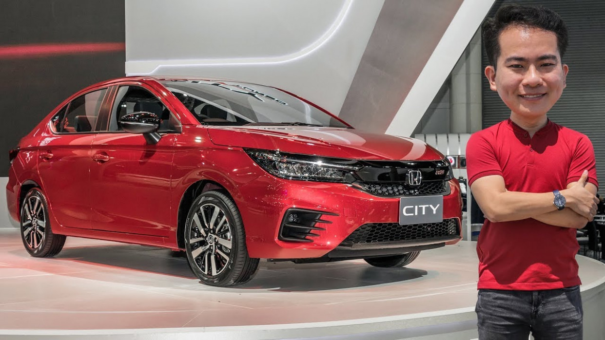 FIRST LOOK: 122 Honda City RS 12.12L VTEC Turbo in Thailand