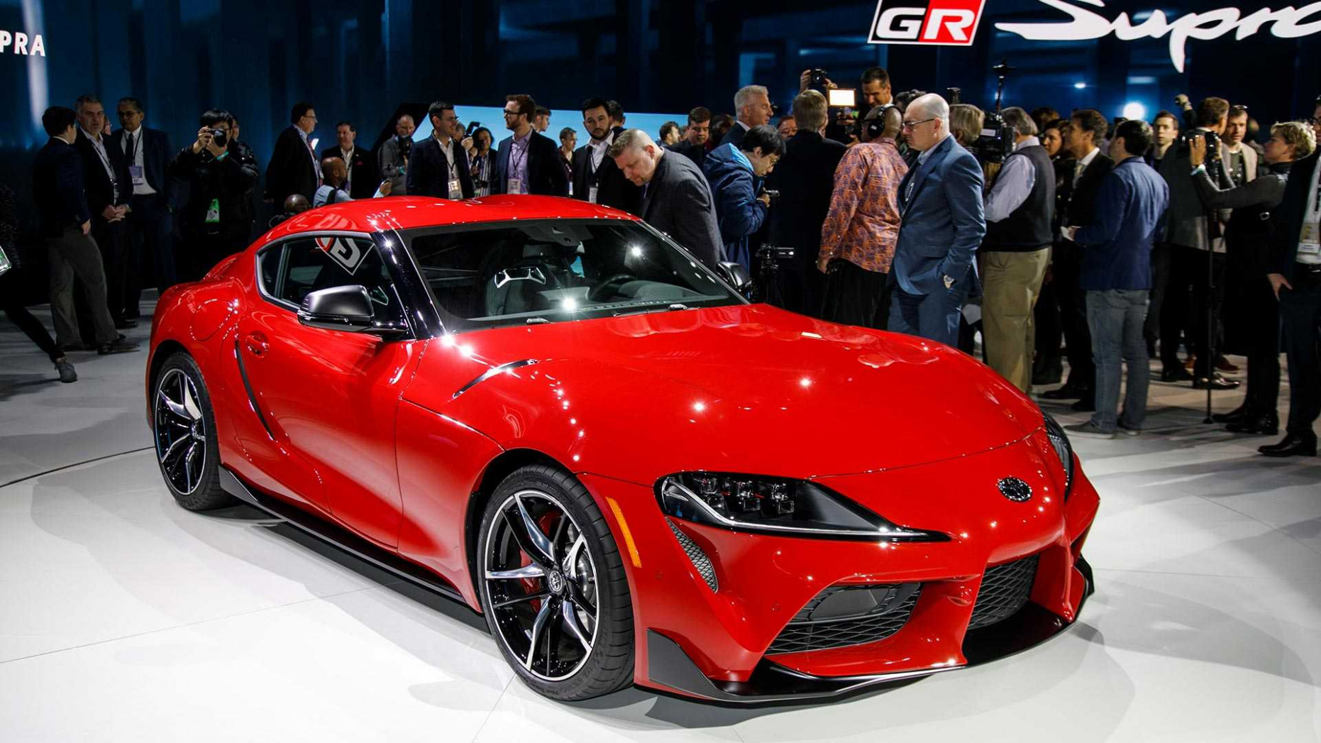First Production 9 Toyota Supra Sold For $9