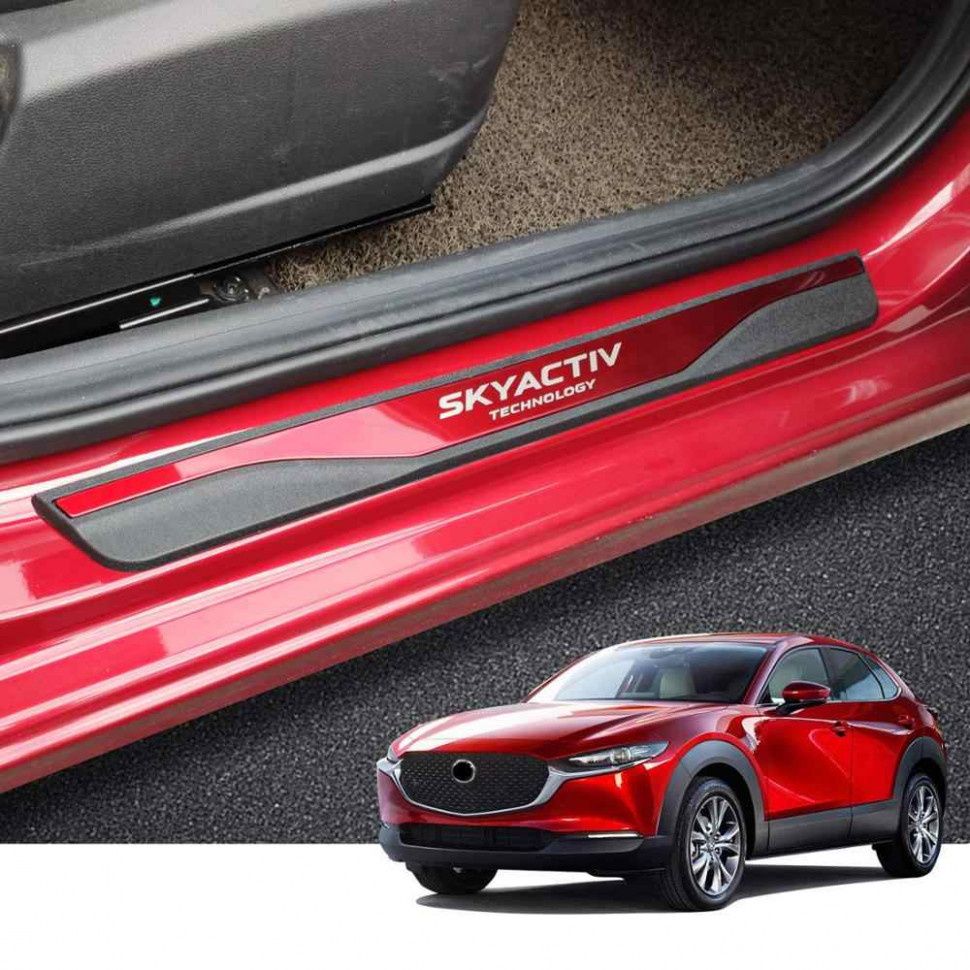 For Mazda Cx9 Door Sill CX 9 Scuff Plate Protector CX 9 Auto ..