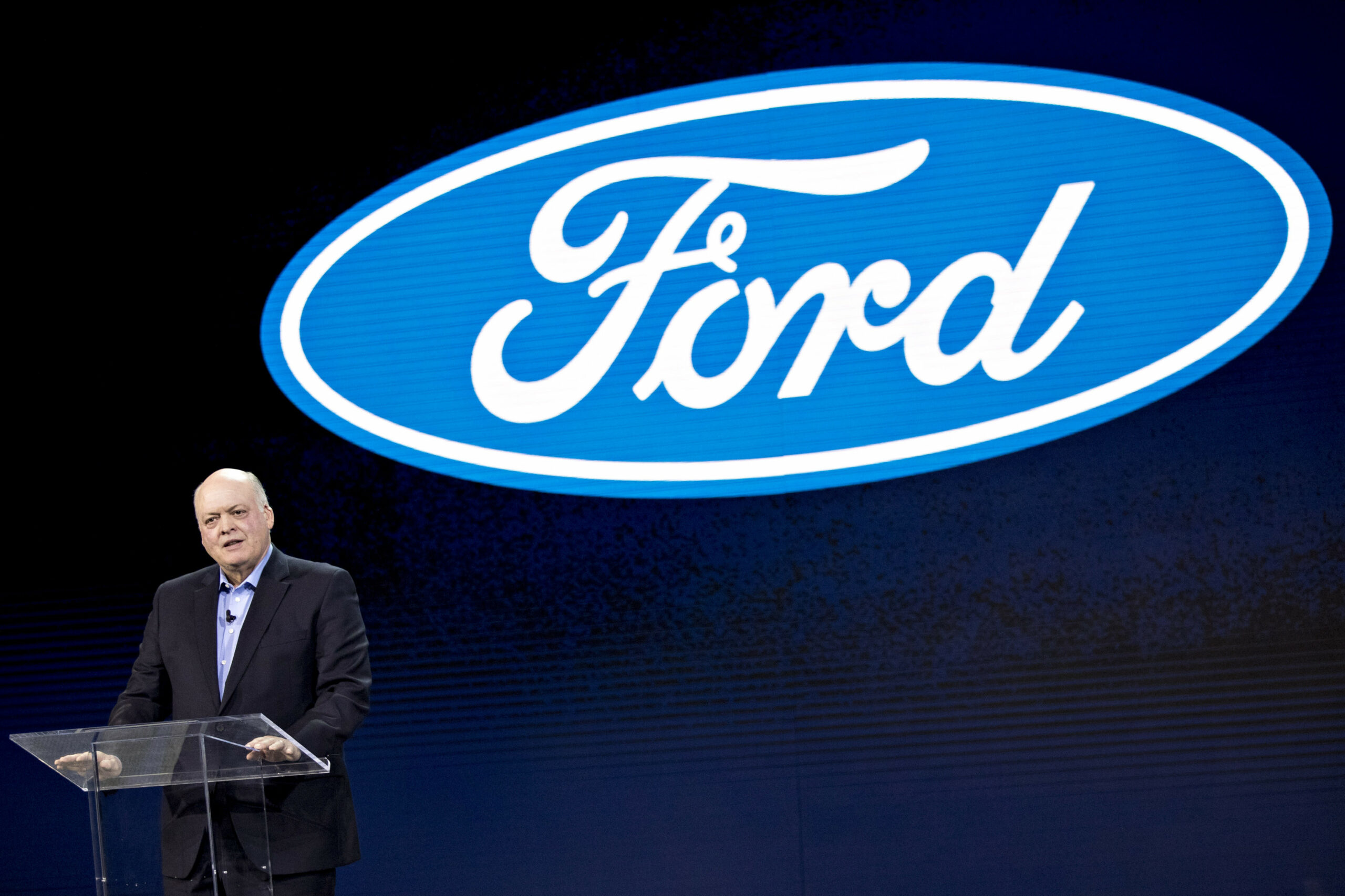 Ford shares fall on first-quarter revenue warning, sees losses ahead