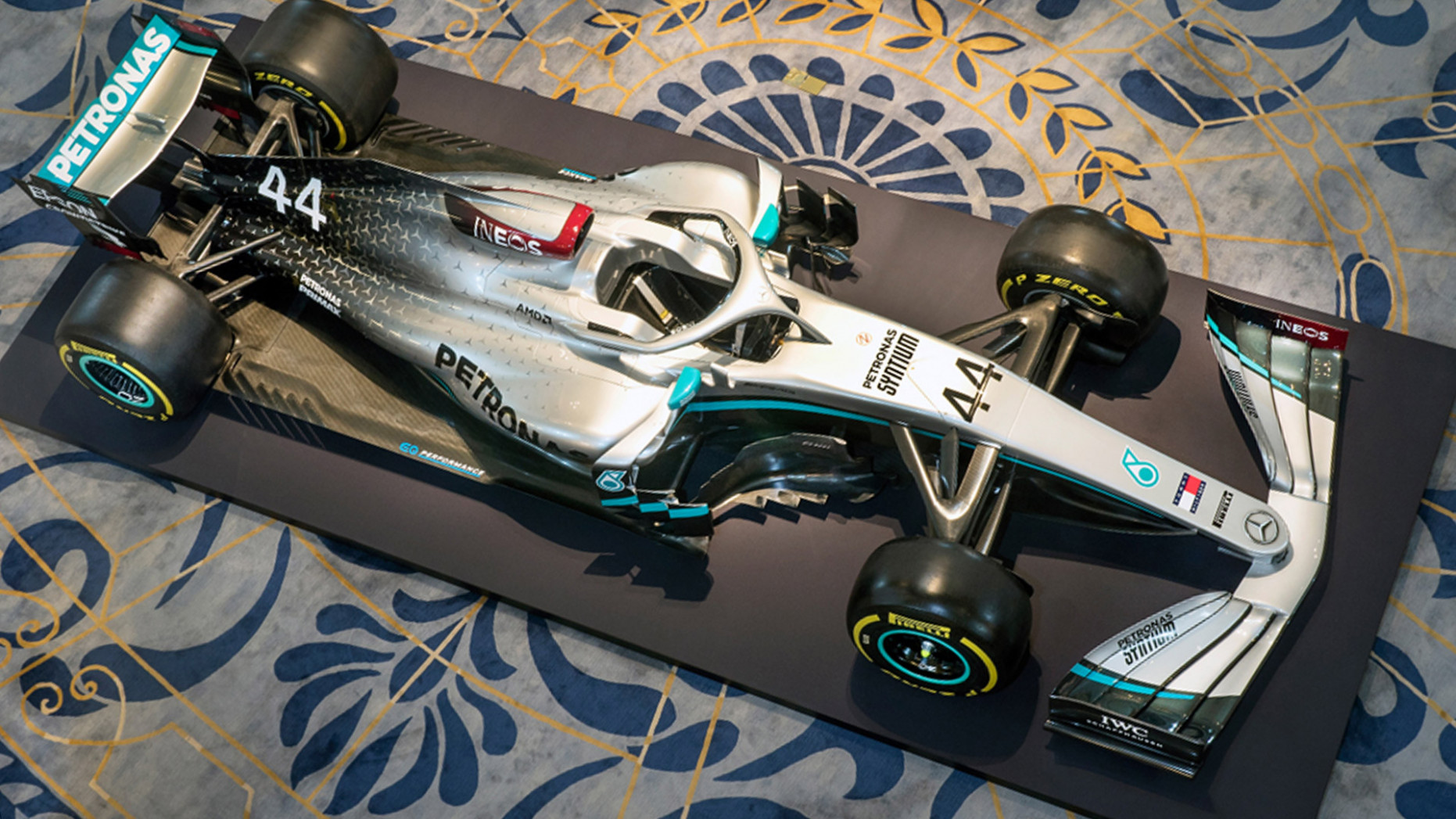 GALLERY: Mercedes reveal new livery for 11 season – with a hint ...