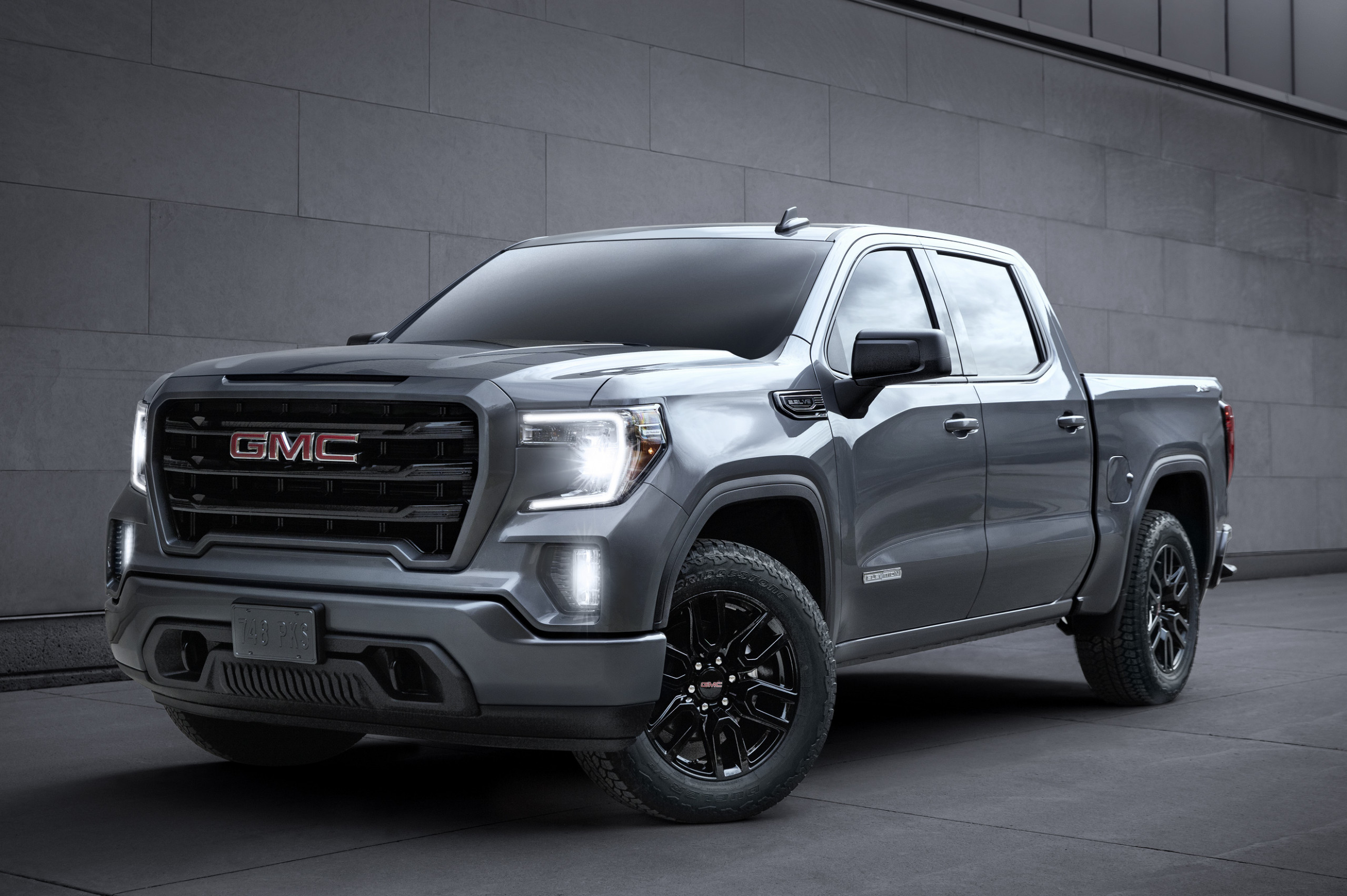 GMC expands features for 9 Sierra 9 lineup - gmc elevation 2020