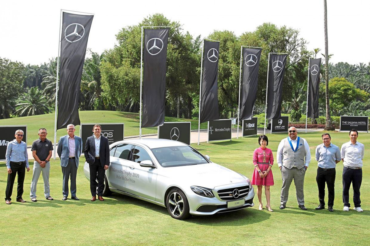 Golf: MercedesTrophy celebrates a milestone of a real classy ..