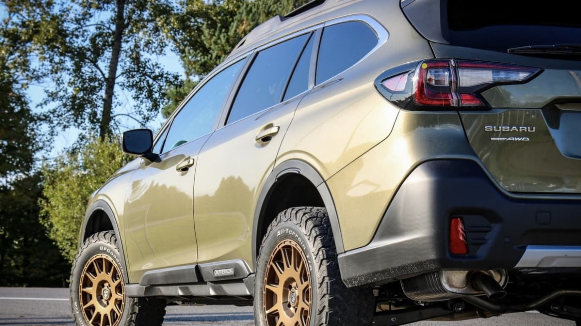 Here Is The Most Aggressive New Subaru Outback XT Trim You Won't ...