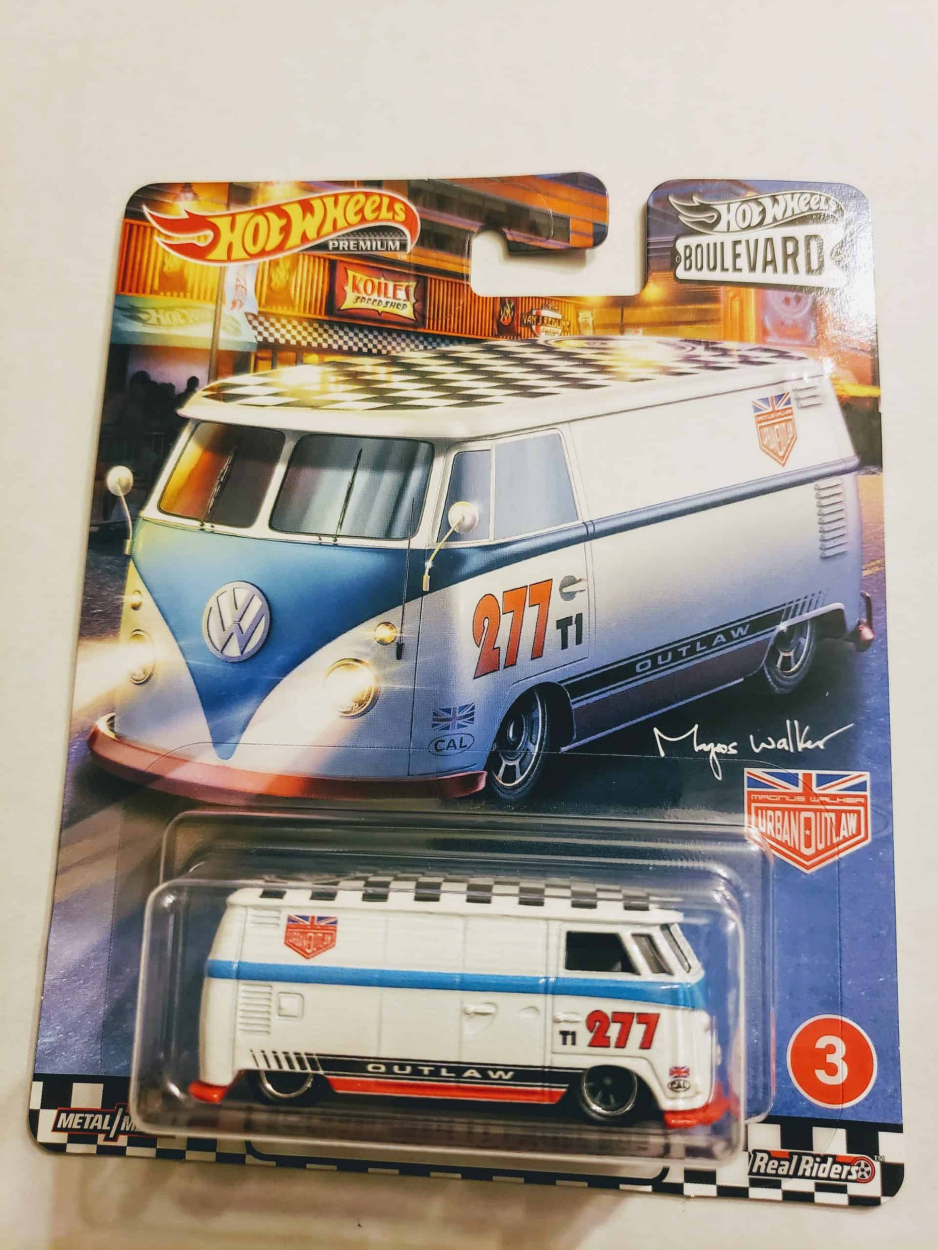 Hot Wheels 1111 Boulevard Volkswagen T11 Panel Bus GJT11 - hot wheels 2020 volkswagen series
