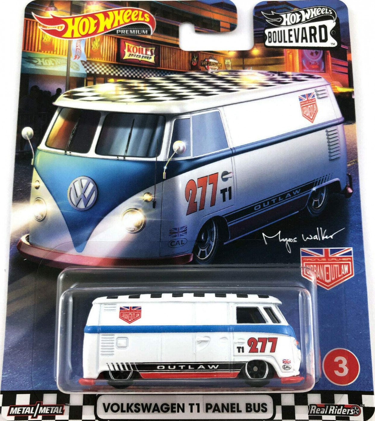Hot Wheels Volkswagen T11 Panel Bus Boulevard Series 11 11/11 ..
