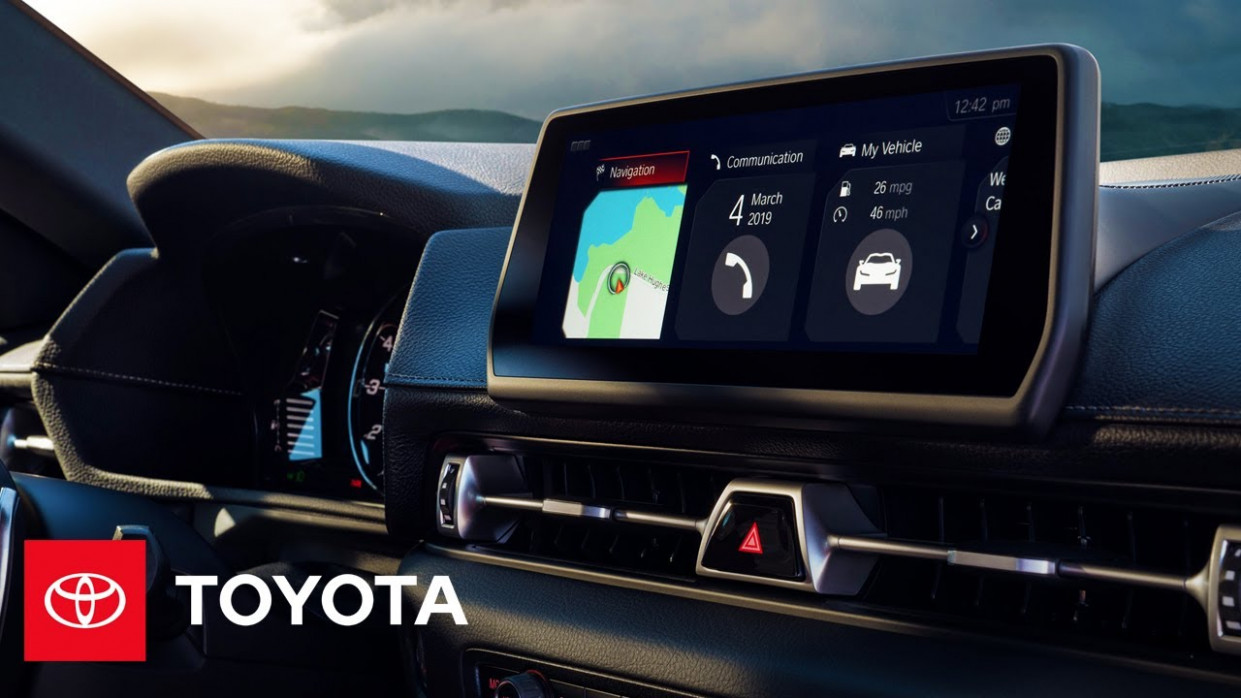 How To Use the Navigation System in the 9 Toyota Supra - 2020 toyota navigation