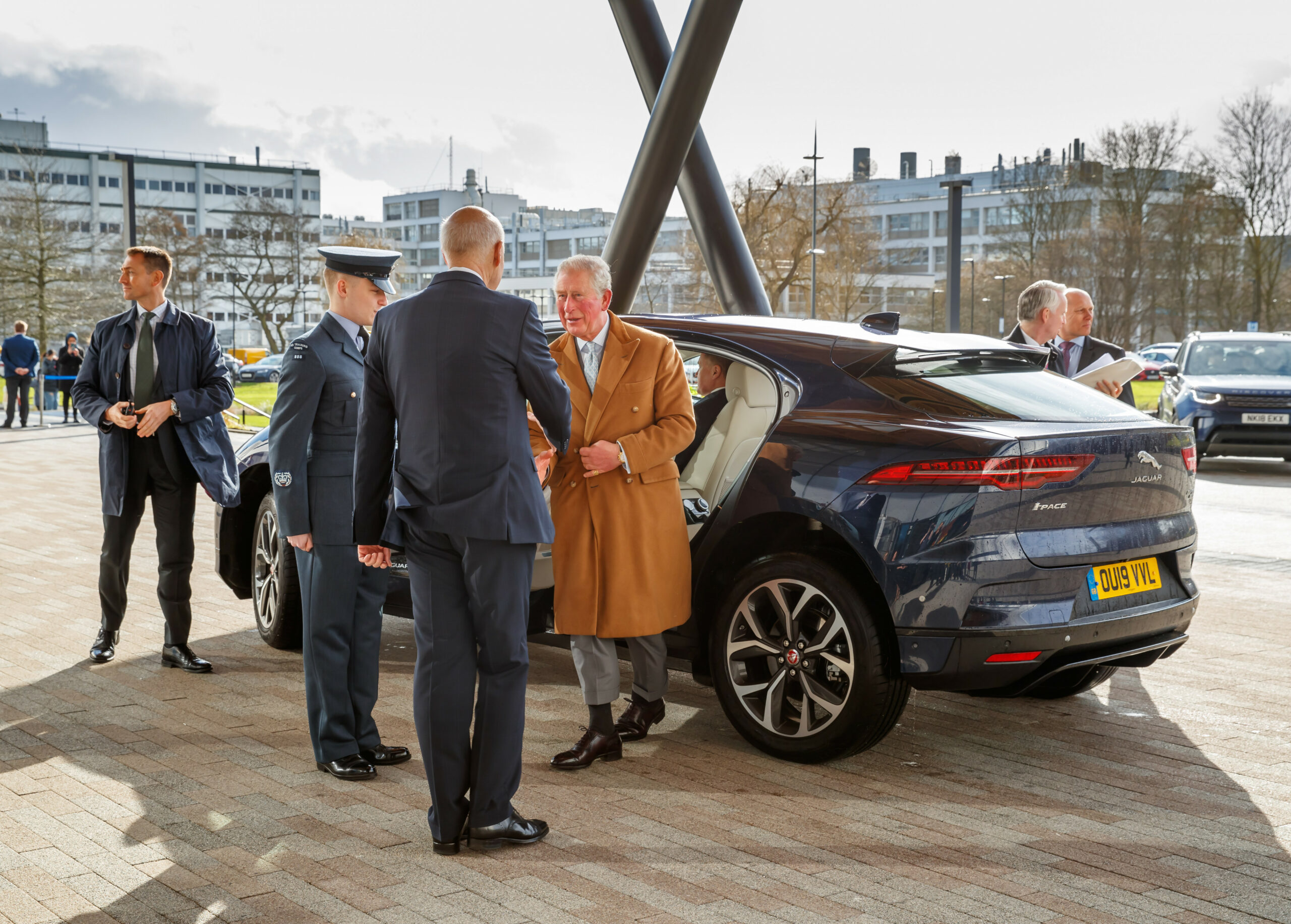 HRH THE PRINCE OF WALES OFFICIALLY OPENS THE NATIONAL AUTOMOTIVE ..