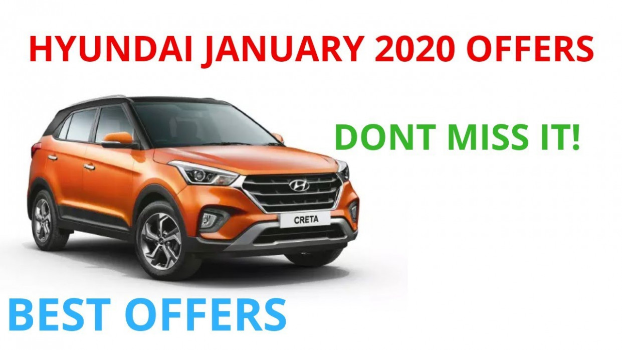 Hyundai discounts January 12 | January 12 offers | don't miss it