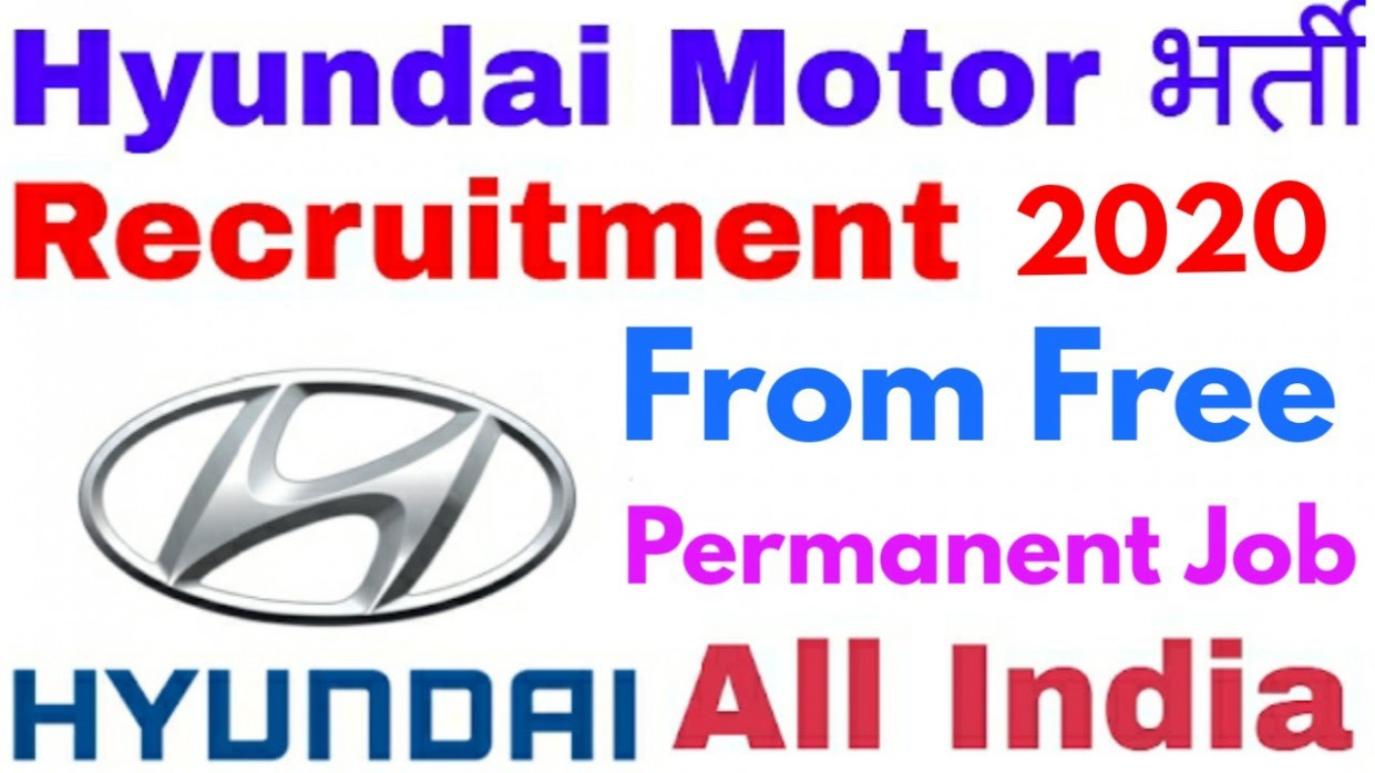 Hyundai Motor India Off Campus Recruitment 12 | Apply Link In Description  | - hyundai off campus drive 2020