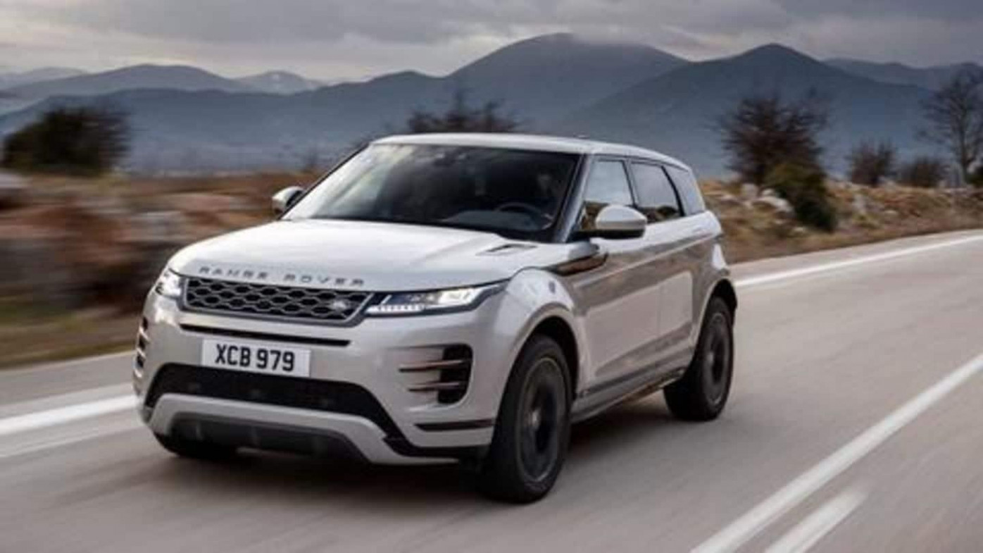 India- 10 Range Rover Evoque to be launched on January 10 ...