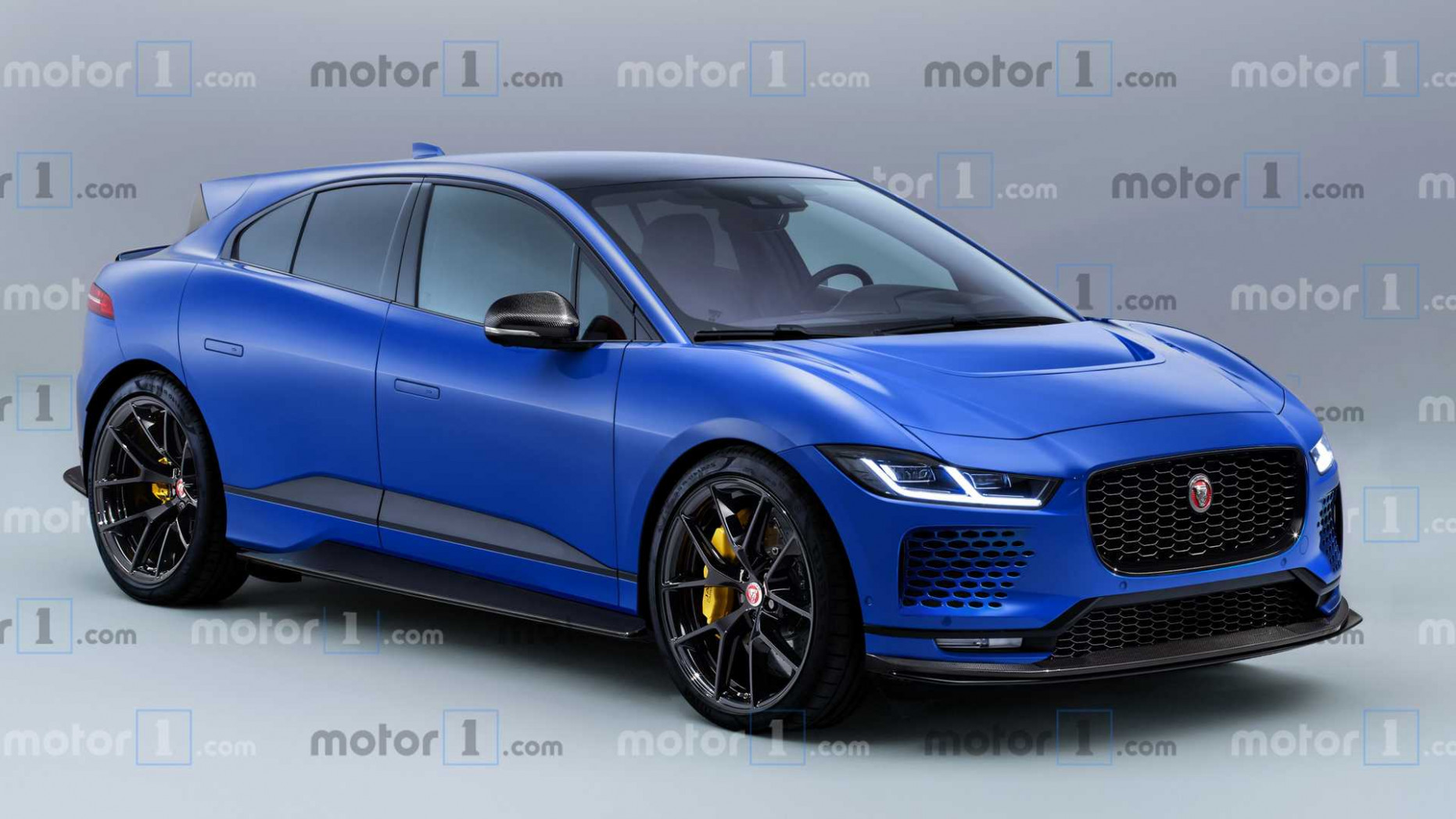Jaguar I-Pace SVR Rendering Previews The Performance Electric SUV