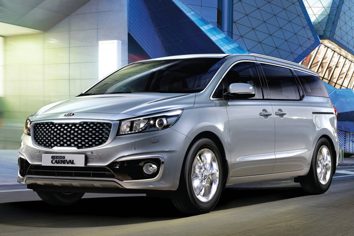 Kia Grand Carnival Now Available with Optional Leather Seats ..