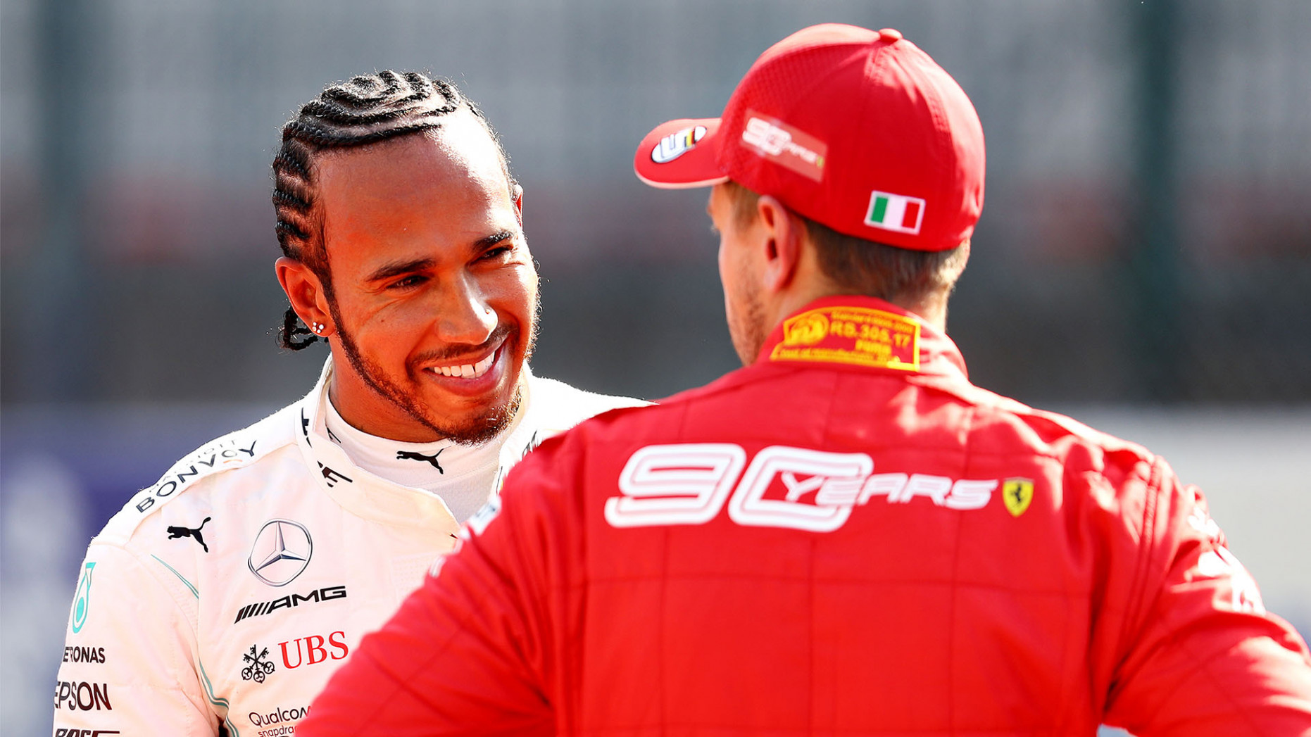Lewis Hamilton shoots down Ferrari move rumours as Mercedes driver ..
