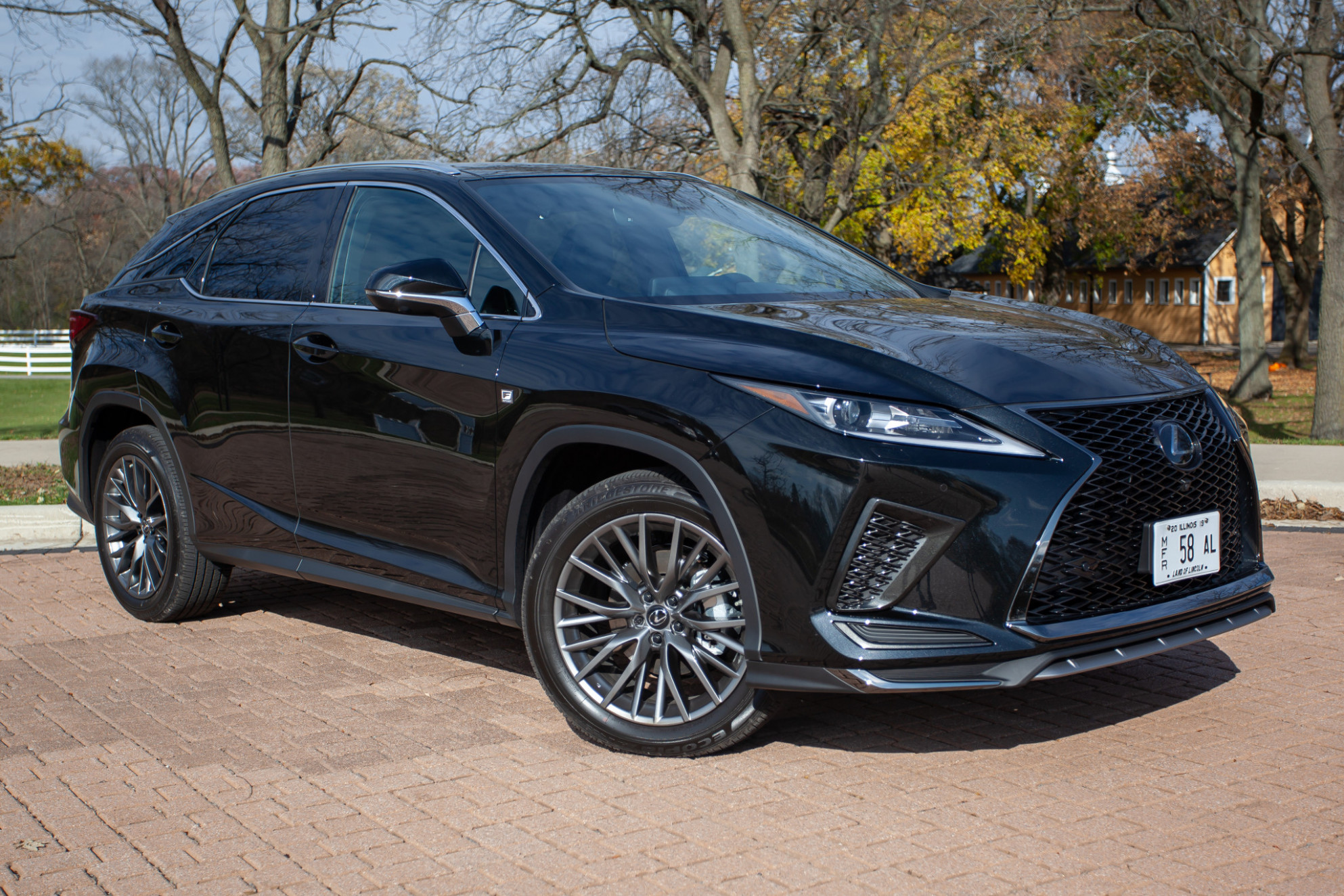 Lexus 11 RX SUV Family Brings Home Safety Awards, Falls Short on ..