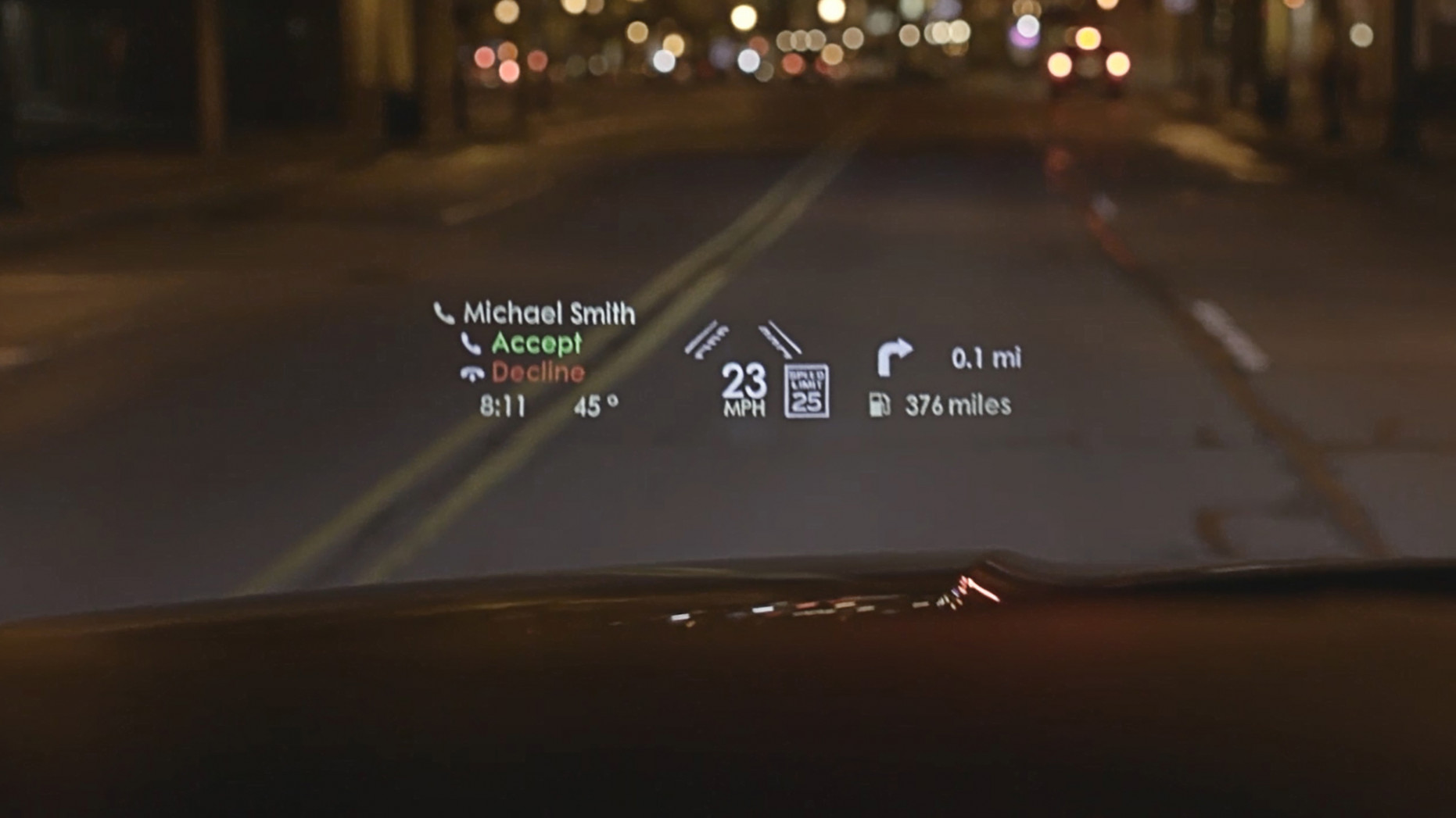 Lincoln Head-Up Display Shot Across Bow Of Cadillac, Buick | GM ..