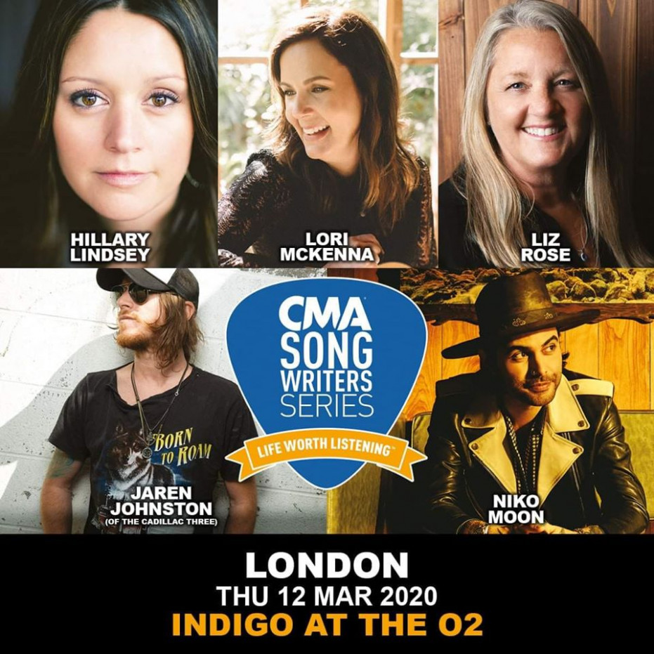 Line-Up Announced For CMA Songwriters Series 12 - Your Life In A ...