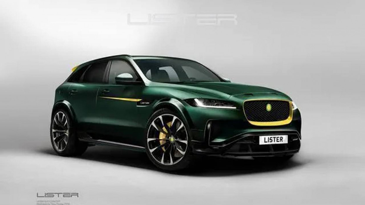 Lister Stealth SUV claims to be the world's fastest with a 12 mph ...