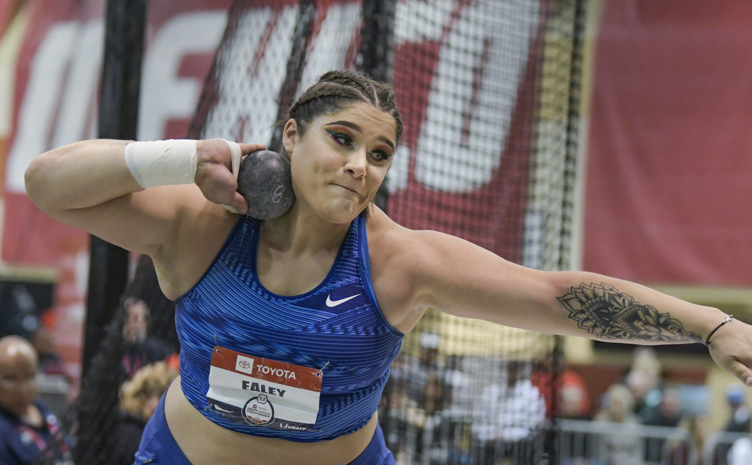 Los Alamos' Ealey wins in USATF shot put » Albuquerque Journal