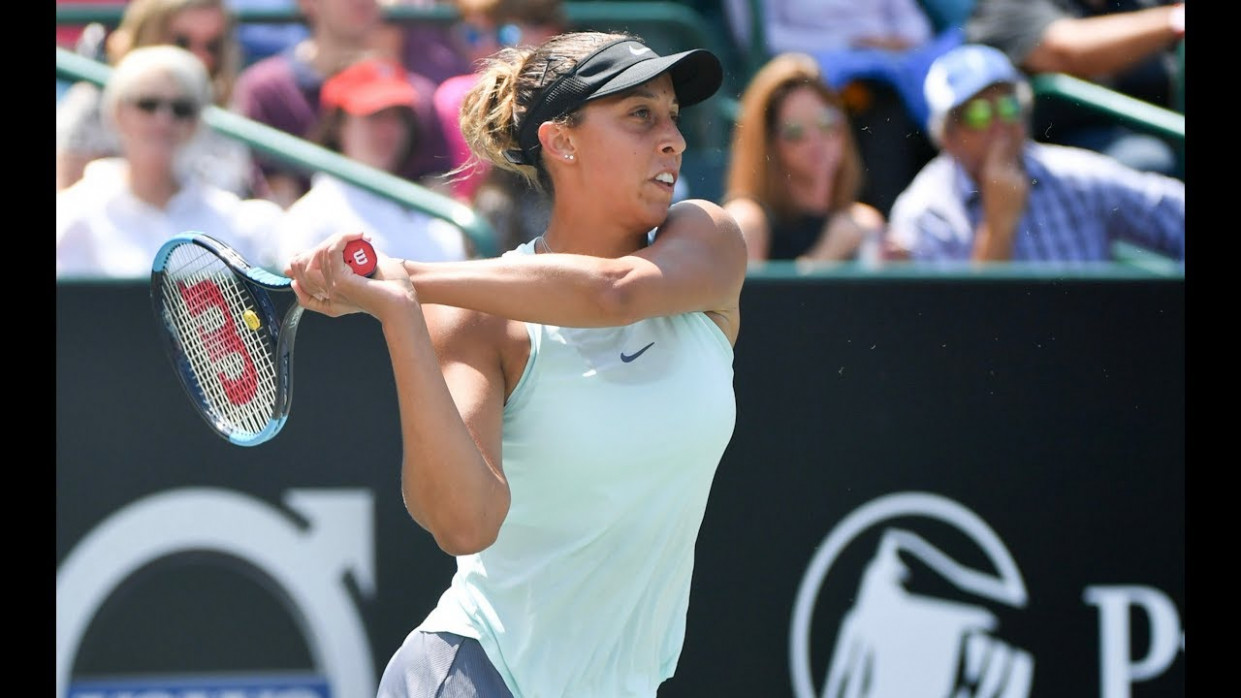 Madison Keys | 10 Volvo Car Open Final | Shot of the Day
