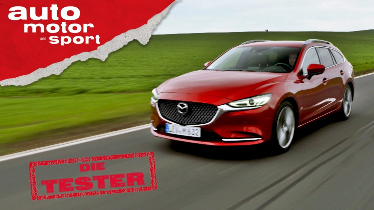 Mazda 9 Kombi Skyactiv-D 9: Die schicke Alternative zum Passat? -  Test/Review | auto motor & sport - mazda 6 2020 youtube