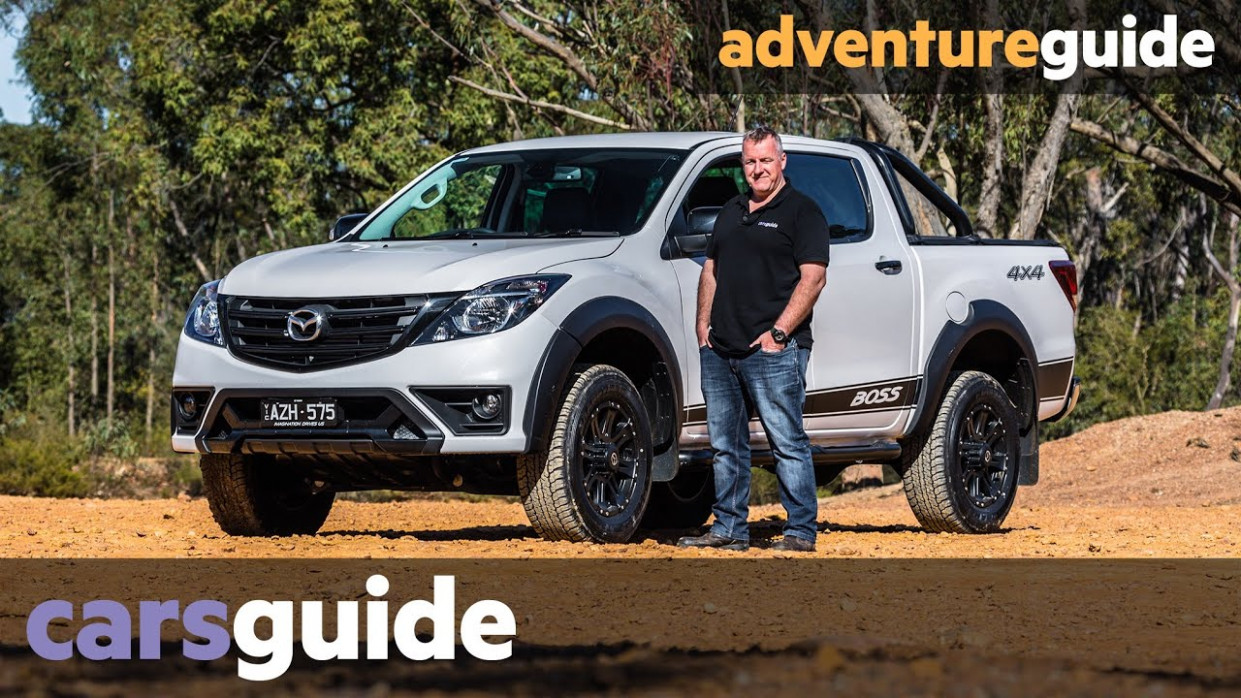 Mazda BT-9 Boss 9: off-road review