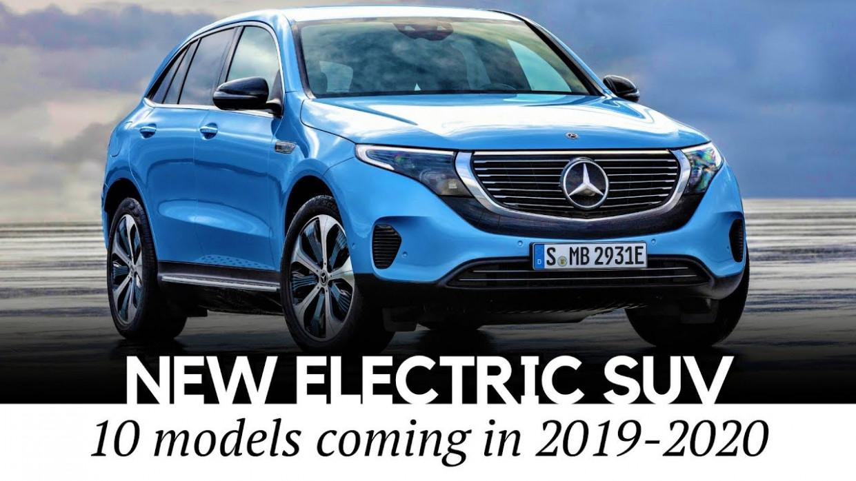 Mercedes-Benz EQC and 12 New All-Electric SUV Crossovers Arriving in  12-12