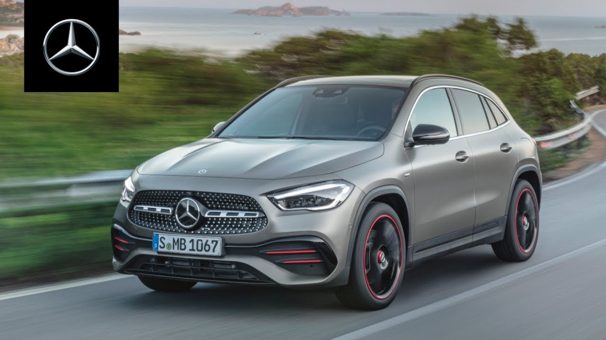 Mercedes-Benz GLA (11): World Premiere | Trailer - 2020 mercedes uk