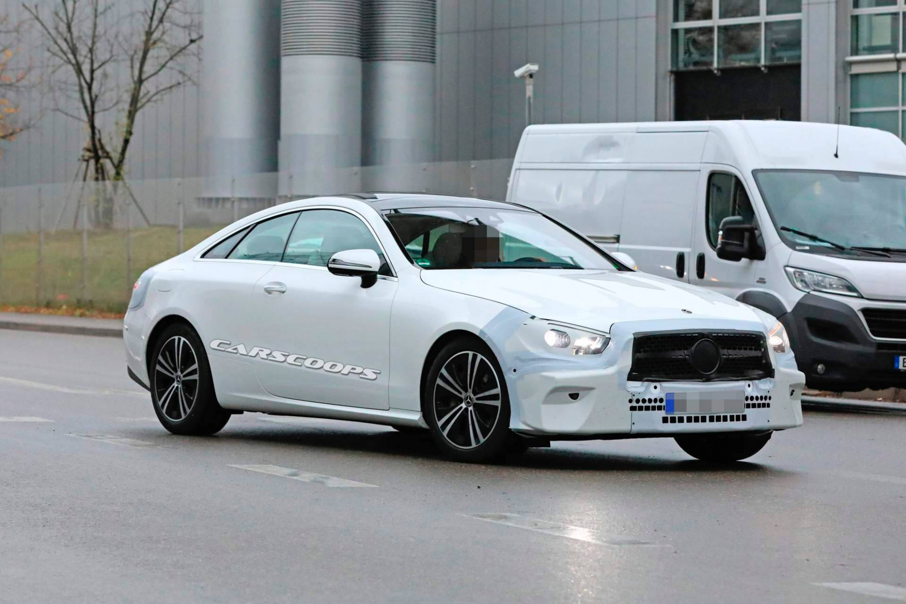 Mercedes E-Class Coupe gets new face - first pics - MercedesBlog - 2020 mercedes e class coupe