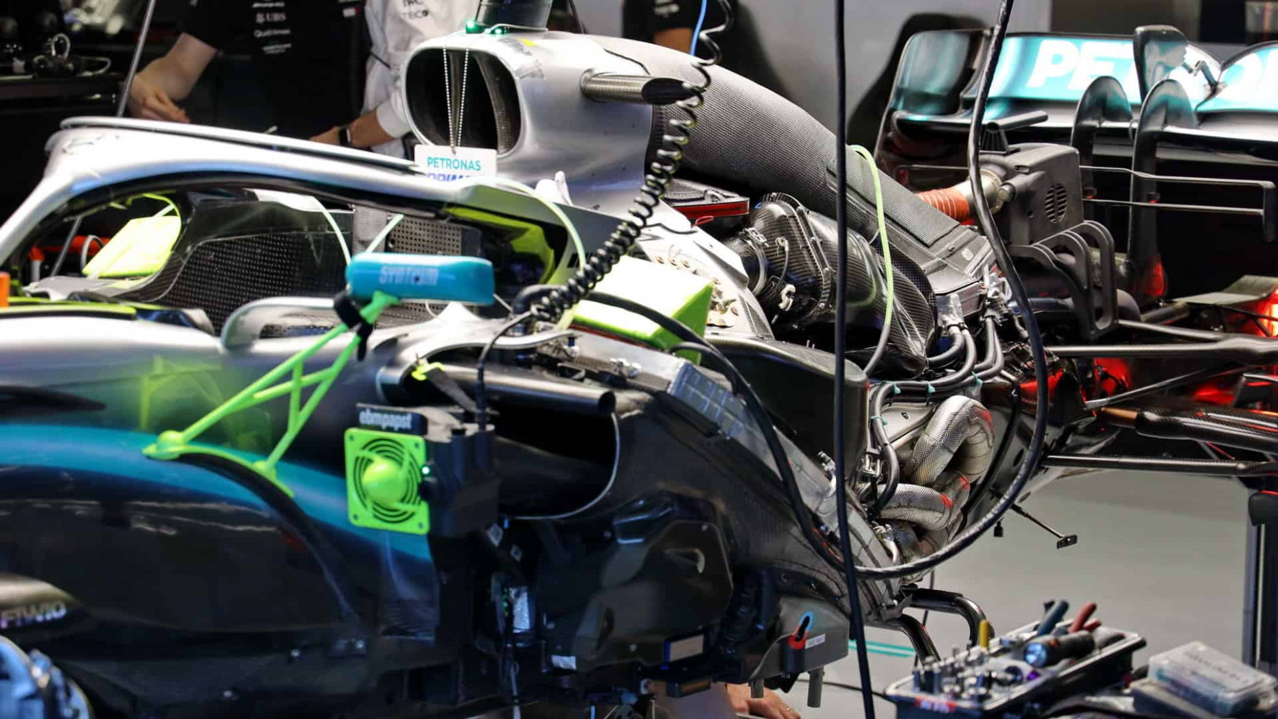 Mercedes, McLaren and Ferrari fire up their new 100 F10 cars - ferrari 2020 engine fire up