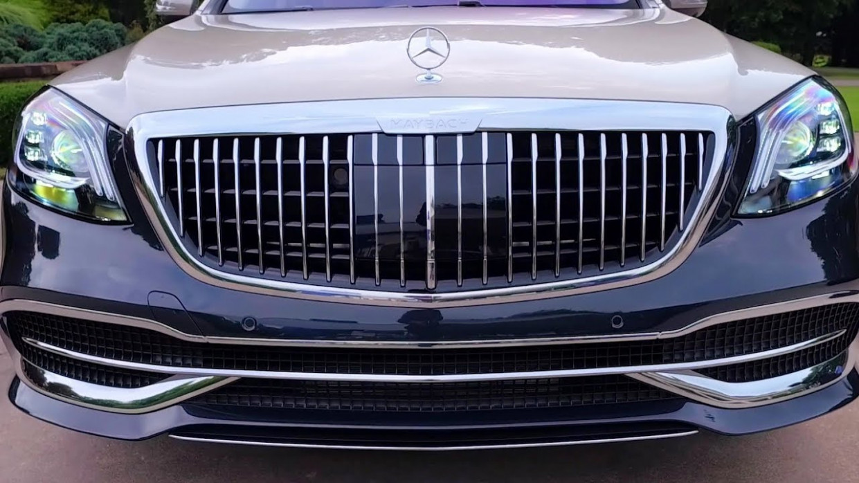 Mercedes S-Class Maybach 10 - interior Exterior and Drive