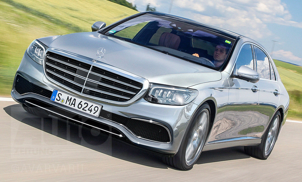 Mercedes S-Klasse (12): Neue Fotos & Illustration | autozeitung