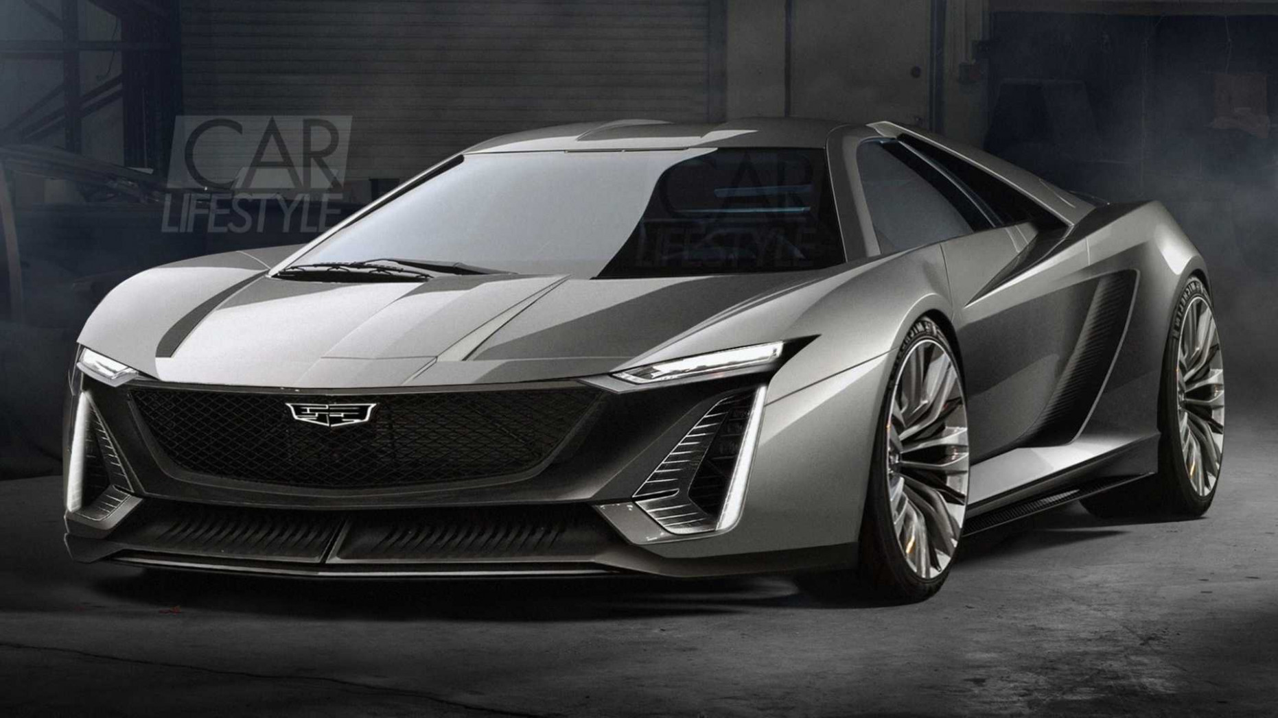 Mid-Engined Cadillac Supercar Would Be A Great C10 Companion - 2020 cadillac with corvette engine