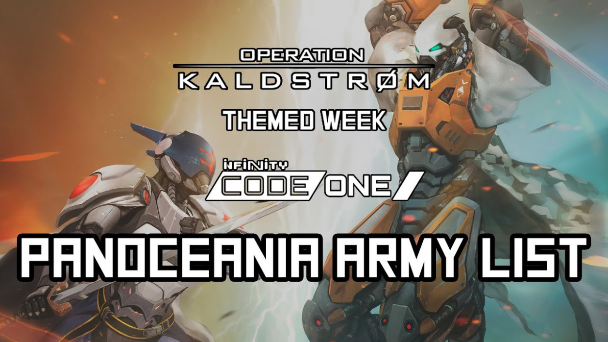 More Infinity Videos Drop For Operation Kaldstrom & CODE ONE ..