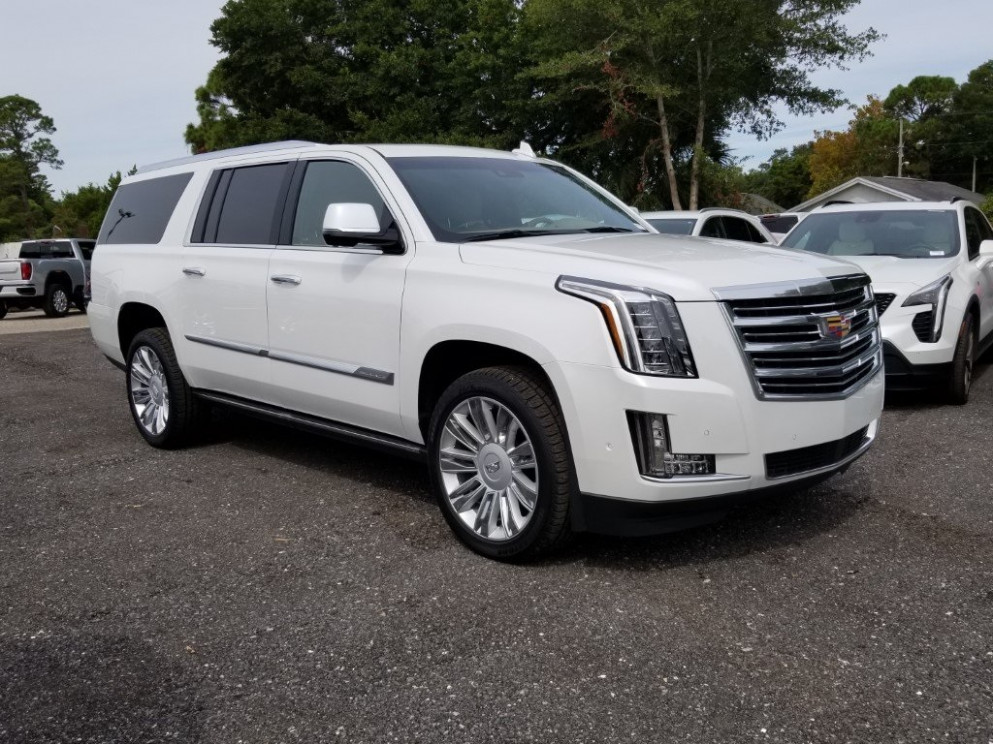 New 11 Cadillac Escalade ESV Platinum Edition With Navigation