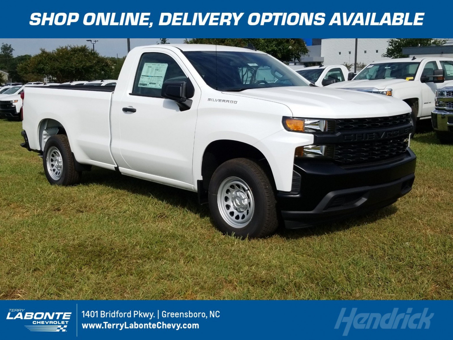 New 11 Chevrolet Silverado 11 Work Truck RWD Pickup