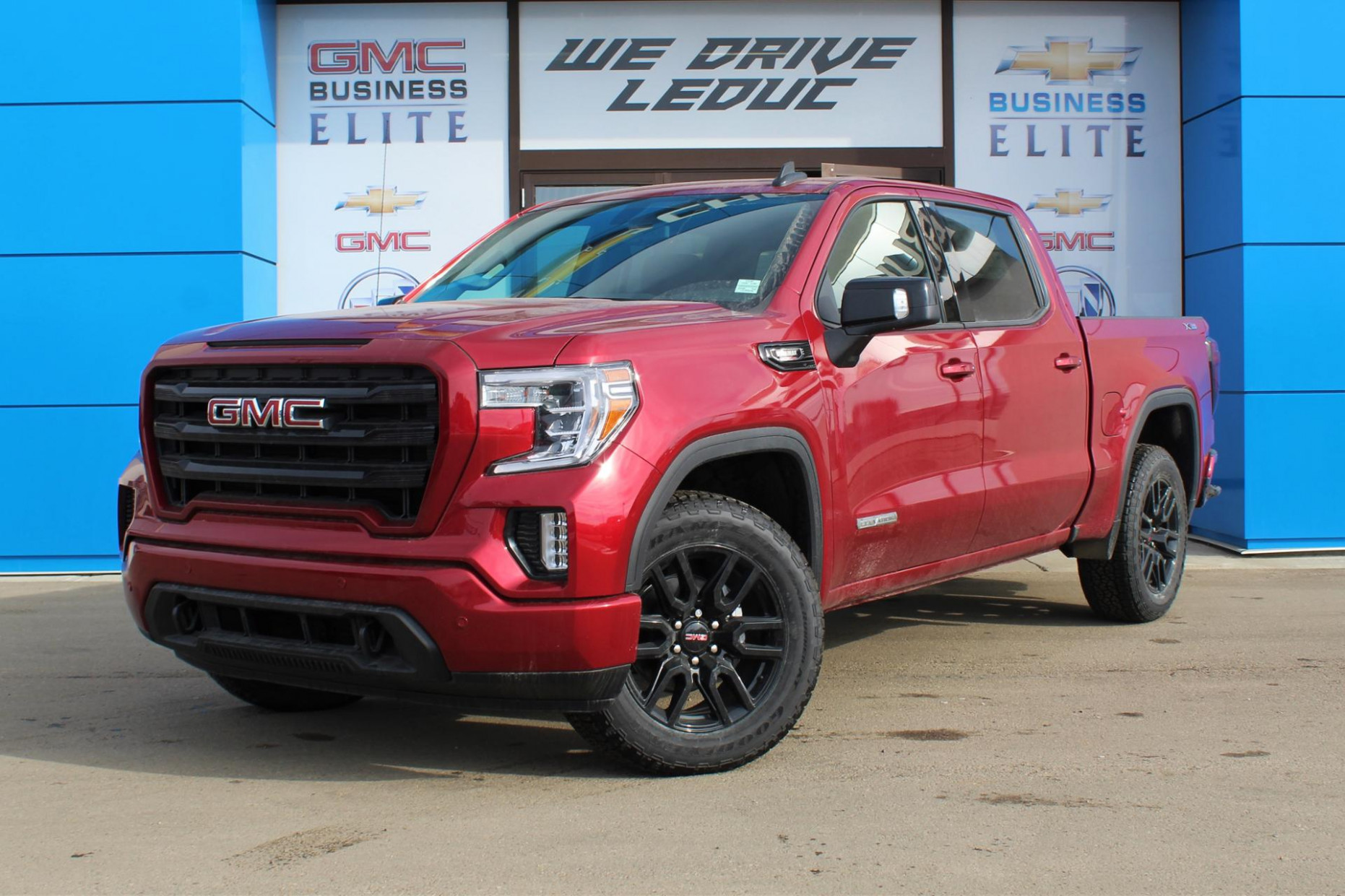 New 11 GMC Sierra 11 Crew Cab Short Box 11-Wheel Drive ...