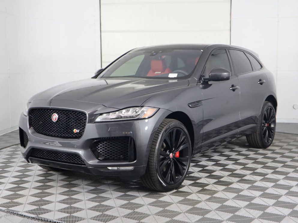 New 12 Jaguar F-PACE All Wheel Drive SUV